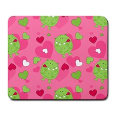 Monster Love Pattern Large Mousepads by allthingseveryday