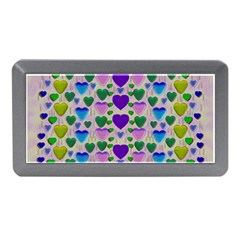 Love In Eternity Is Sweet As Candy Pop Art Memory Card Reader (mini) by pepitasart
