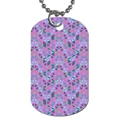 Sacred Geometry Pattern 2 Dog Tag (two Sides) by Cveti