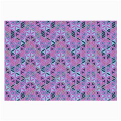 Sacred Geometry Pattern 2 Large Glasses Cloth (2 Side) by Cveti