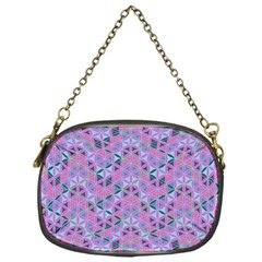 Sacred Geometry Pattern 2 Chain Purses (one Side)  by Cveti