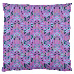 Sacred Geometry Pattern 2 Large Cushion Case (one Side) by Cveti