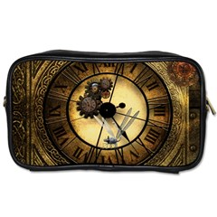 Wonderful Steampunk Desisgn, Clocks And Gears Toiletries Bags 2-side by FantasyWorld7