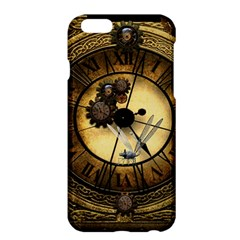 Wonderful Steampunk Desisgn, Clocks And Gears Apple Iphone 6 Plus/6s Plus Hardshell Case by FantasyWorld7