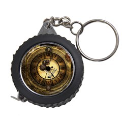 Wonderful Steampunk Desisgn, Clocks And Gears Measuring Tape by FantasyWorld7