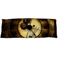 Wonderful Steampunk Desisgn, Clocks And Gears Body Pillow Case Dakimakura (two Sides) by FantasyWorld7