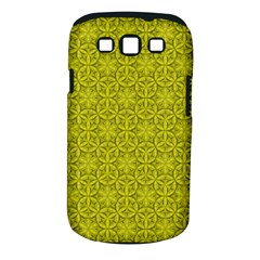 Flower Of Life Pattern Lemon Color  Samsung Galaxy S Iii Classic Hardshell Case (pc+silicone) by Cveti