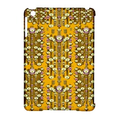 Rain Showers In The Rain Forest Of Bloom And Decorative Liana Apple Ipad Mini Hardshell Case (compatible With Smart Cover) by pepitasart