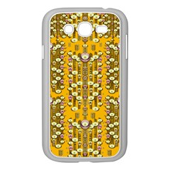 Rain Showers In The Rain Forest Of Bloom And Decorative Liana Samsung Galaxy Grand Duos I9082 Case (white) by pepitasart