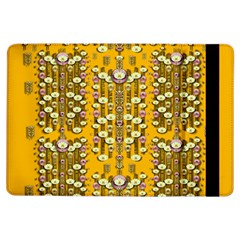 Rain Showers In The Rain Forest Of Bloom And Decorative Liana Ipad Air Flip by pepitasart
