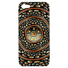 Dark Metal And Jewels Apple Iphone 5 Hardshell Case by linceazul