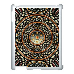 Dark Metal And Jewels Apple Ipad 3/4 Case (white) by linceazul