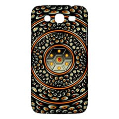 Dark Metal And Jewels Samsung Galaxy Mega 5 8 I9152 Hardshell Case  by linceazul