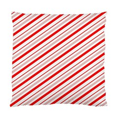 Candy Cane Stripes Standard Cushion Case (two Sides) by jumpercat
