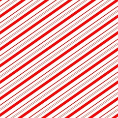 Candy Cane Stripes Magic Photo Cubes by jumpercat