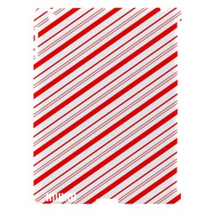 Candy Cane Stripes Apple Ipad 3/4 Hardshell Case (compatible With Smart Cover)