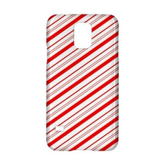 Candy Cane Stripes Samsung Galaxy S5 Hardshell Case  by jumpercat