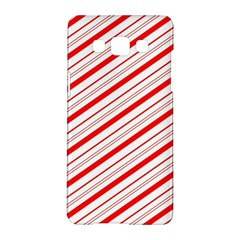 Candy Cane Stripes Samsung Galaxy A5 Hardshell Case
