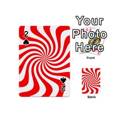 Peppermint Candy Playing Cards 54 (mini)  by jumpercat