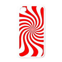 Peppermint Candy Apple Iphone 4 Case (white)