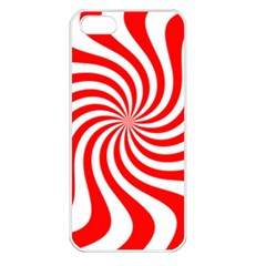 Peppermint Candy Apple Iphone 5 Seamless Case (white)