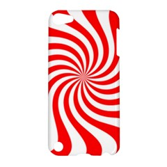 Peppermint Candy Apple Ipod Touch 5 Hardshell Case by jumpercat