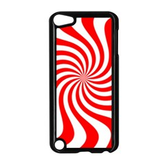 Peppermint Candy Apple Ipod Touch 5 Case (black) by jumpercat