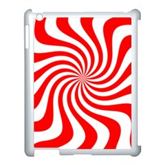 Peppermint Candy Apple Ipad 3/4 Case (white) by jumpercat