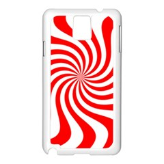 Peppermint Candy Samsung Galaxy Note 3 N9005 Case (white) by jumpercat