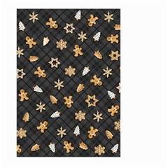 Gingerbread Dark Large Garden Flag (two Sides)
