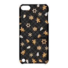 Gingerbread Dark Apple Ipod Touch 5 Hardshell Case With Stand