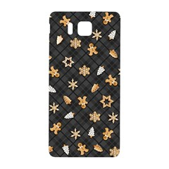 Gingerbread Dark Samsung Galaxy Alpha Hardshell Back Case