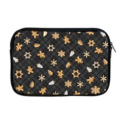 Gingerbread Dark Apple Macbook Pro 17  Zipper Case