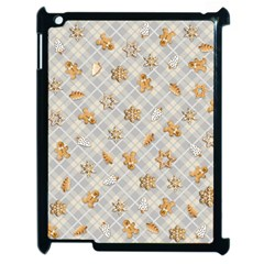Gingerbread Light Apple Ipad 2 Case (black)
