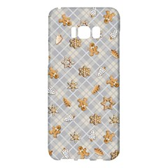 Gingerbread Light Samsung Galaxy S8 Plus Hardshell Case  by jumpercat