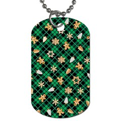 Gingerbread Green Dog Tag (one Side) by jumpercat