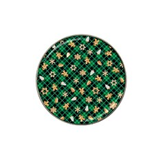 Gingerbread Green Hat Clip Ball Marker (4 Pack)