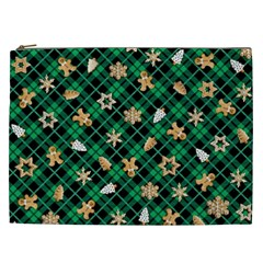 Gingerbread Green Cosmetic Bag (xxl)  by jumpercat