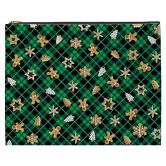 Gingerbread Green Cosmetic Bag (xxxl)  by jumpercat