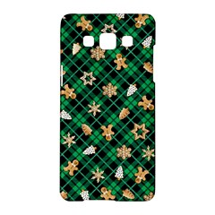Gingerbread Green Samsung Galaxy A5 Hardshell Case