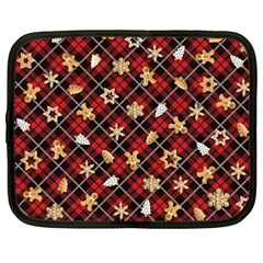 Gingerbread Red Netbook Case (xxl)  by jumpercat