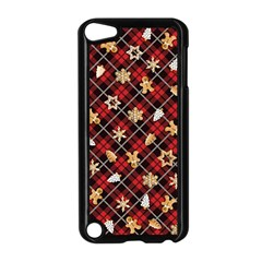 Gingerbread Red Apple Ipod Touch 5 Case (black) by jumpercat