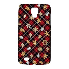 Gingerbread Red Galaxy S4 Active by jumpercat