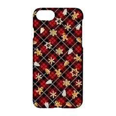 Gingerbread Red Apple Iphone 7 Hardshell Case by jumpercat
