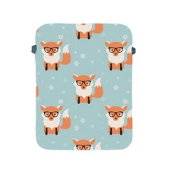 Cute Fox Pattern Apple Ipad 2/3/4 Protective Soft Cases
