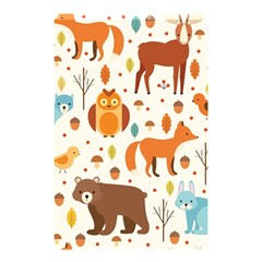 Woodland Friends Pattern Shower Curtain 48  X 72  (small)  by allthingseveryday