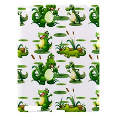 Crocodiles In The Pond Apple Ipad 3/4 Hardshell Case by allthingseveryday