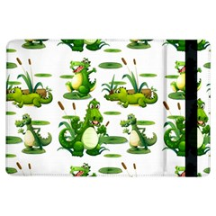 Crocodiles In The Pond Ipad Air Flip by allthingseveryday