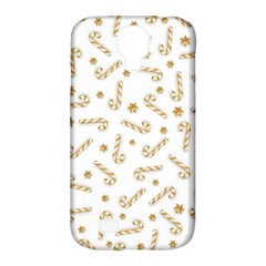 Golden Candycane Light Samsung Galaxy S4 Classic Hardshell Case (pc+silicone) by jumpercat