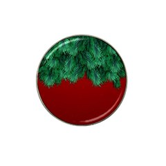 Xmas Tree Hat Clip Ball Marker (10 Pack) by jumpercat